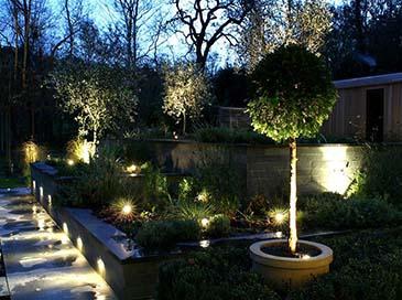 bahçe aydınlatma sistemleri